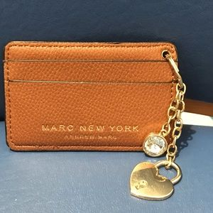 Marc New York ID/card holder/key chain/charm